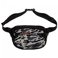 [해외]슈퍼드라이  Sport Bum Bag Black Jacquard Camo