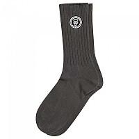 [해외]슈퍼드라이  University Socks Double Pack Grey / Grey