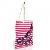 [해외]슈퍼드라이  Calico Tote Neon Pink Stripe