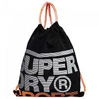 [해외]슈퍼드라이 Drawstring Bag Black / Fluro Orange