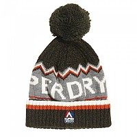 [해외]슈퍼드라이  Chevron Logo Dark Khaki / Hazard Orange