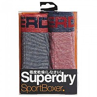 [해외]슈퍼드라이  Sport Boxer 2 Pack Nvy Opt Feeder / Rd Injct Feeder