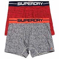[해외]슈퍼드라이  Sport Boxer 2 Pack Alabama Spc Dye / Sd Cnvrstn Nvy