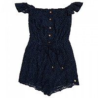 [해외]슈퍼드라이  Lilah Schiffli Playsuit Navy