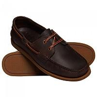 [해외]슈퍼드라이 Leather Deck Dark Brown