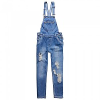 [해외]슈퍼드라이  Jodie Boyfriend Dungaree Workwear Blue