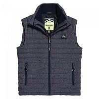 [해외]슈퍼드라이 Fuji Double Zip Tweed Vest Navy Tweed