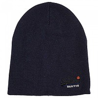 [해외]슈퍼드라이  Orange Label Beanie Eclipse Navy / Black Grit