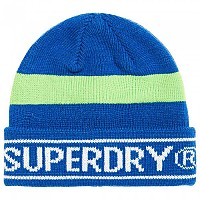 [해외]슈퍼드라이  Body Pop Beanie Acid Cobalt