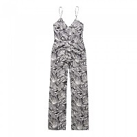 [해외]슈퍼드라이  Tropic Jumpsuit Tropical Leaves Black