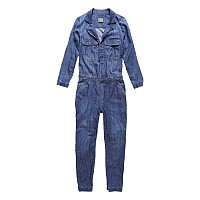 [해외]슈퍼드라이  Cary Shirt Jumpsuit Boiler Blue