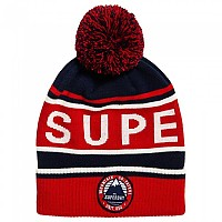 [해외]슈퍼드라이  Oslo Racer Beanie Red / Off White / Navy