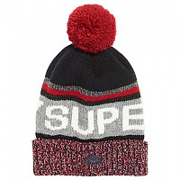 [해외]슈퍼드라이  Super Logo Beaniie Navy / Red Mix