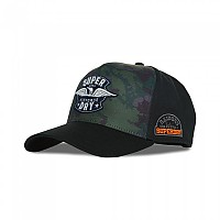 [해외]슈퍼드라이  Fly Trucker Camo / Black
