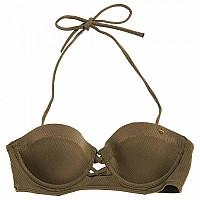 [해외]슈퍼드라이  Sophia Textured Cup Bikini Top Khaki