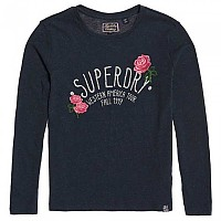 [해외]슈퍼드라이  Callie Embroidered Colorado Navy Marl