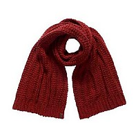 [해외]슈퍼드라이  Cheska Oversized Scarf Rust Red