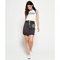 [해외]슈퍼드라이  Tri League Sweat Skirt Charcoal Marl