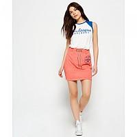 [해외]슈퍼드라이  Tri League Sweat Skirt Bright Red
