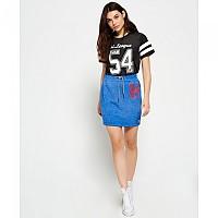 [해외]슈퍼드라이  Tri League Sweat Skirt Dazzle Blue