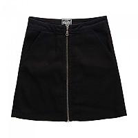 [해외]슈퍼드라이  Kim Zippered Mini Skirt Black