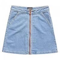 [해외]슈퍼드라이  Kim Zippered Mini Skirt Authentic Tint