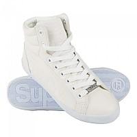 [해외]슈퍼드라이  Super Sleek Logo Hi Optic White