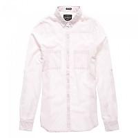 [해외]슈퍼드라이  College Shirt Sweet Pink Stripe