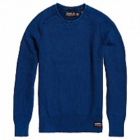 [해외]슈퍼드라이  Garment Dye L.A. Textured Crew Washed Legion Blue