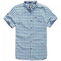 [해외]슈퍼드라이  Ultimate Oxford Mini Gingham Blue Check