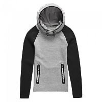 [해외]슈퍼드라이  Gym Tech Cowl Hood Grey / Black
