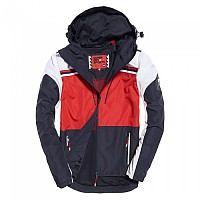 [해외]슈퍼드라이  Pacific Surf Cagoule Navy / Red / White
