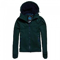 [해외]슈퍼드라이  Storm Double Ziphood Forest Green Marl