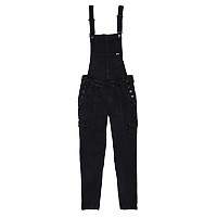 [해외]슈퍼드라이  Emmins Utility Dungaree Washed Black