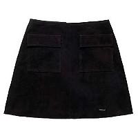 [해외]슈퍼드라이  Billie Suede Pocket Skirt Black