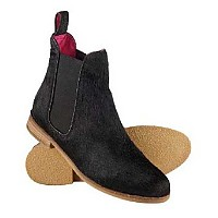 [해외]슈퍼드라이  Premium Millie Chelsea Boot Black Pony