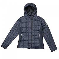 [해외]슈퍼드라이  Hooded Box Quilt Fuji Jacket Navy