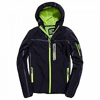 [해외]슈퍼드라이  Sport Tracker True Navy / Neon Yellow