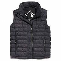 [해외]슈퍼드라이  Fuji Tweed Double Zip Black Tweed