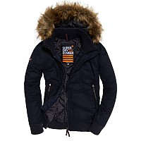 [해외]슈퍼드라이  Microfibre Wind Bomber Super Dark Navy