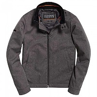 [해외]슈퍼드라이  Premium Casual Harrington Heather Grey Herringbone