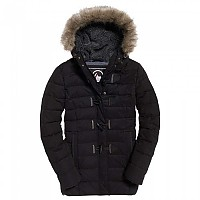 [해외]슈퍼드라이  Microfibre Tall Toggle Parka Black