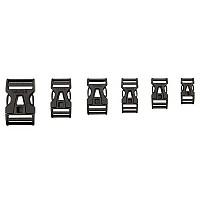 [해외][해외]바우데 Steckschnalle 25 mm Single Adjust Black