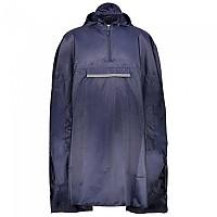 [해외]CMP Unisex Cape Fix Hood Rain Black Blue