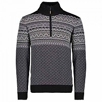 [해외]CMP Man Knitted Pullover Nero