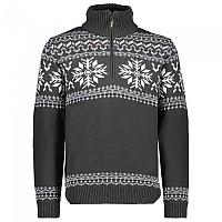 [해외]CMP Man Knitted Pullover Jungle