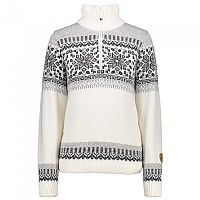 [해외]CMP Knitted Pullover B.Co Gesso
