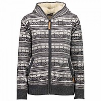 [해외]CMP Knitted Fix Hood Pullover Smoke Melange