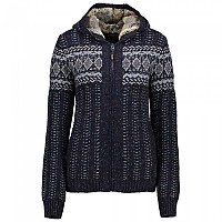 [해외]CMP Knitted Pullover Black Blue