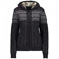 [해외]CMP Knitted Pullover Black